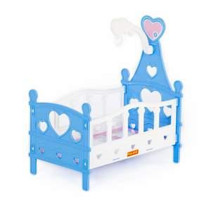 Кроватка сборная для кукол №3 (6 элементов) (в пакете), арт.62055 фото
