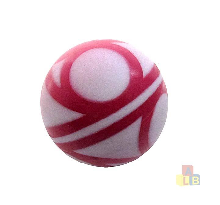 Мяч 100мм лакир с-30ЛП (сетка) арт.с-30ЛП (1/50) фото