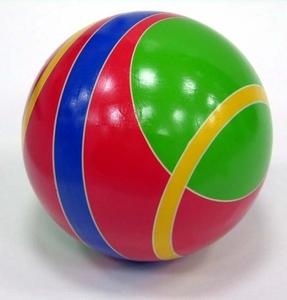Мяч 200мм лакир с-133ЛП (спорт) арт.с-133ЛП (1/8) фото