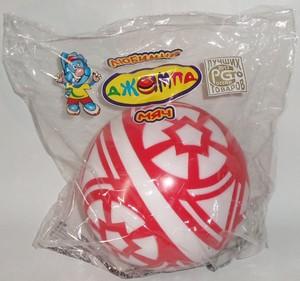 Мяч д. 200мм лакир. с-33ЛПЦ( сетка) арт с-33ЛПЦ фото