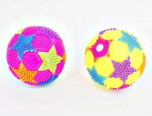 Мяч Звездочки,  свет, дисплей, арт.635799 фото