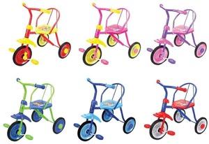 Велосипед 3 кол. Друзья 9/8 кол. 6 цв.двухцв., арт.641330 фото