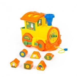 "Логический паровозик ""Миффи"" с 6 кубиками №2, арт.64257 фото"