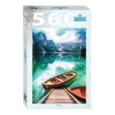 """Мозаика """"puzzle"""" 560 """"Италия. Озеро Брайес"""", арт.78108 фото"""
