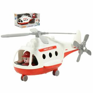 """Вертолёт - скорая помощь """"Альфа"""" (в коробке), арт.68668 фото"""