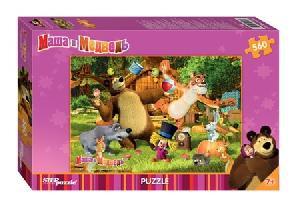 """Мозаика """"puzzle"""" 560 """"Маша и Медведь"""", арт.97018 фото"""