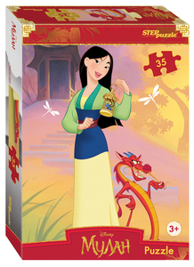 "Мозаика ""puzzle"" 35 ""Мулан"" (Disney), арт.91406 фото"