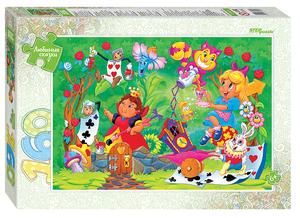 "Мозаика ""puzzle"" 160 ""Алиса  в стране чудес"" (Любимые сказки), арт.72069 фото"