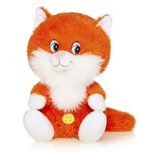 Котенок Лапушка Рыжий, Озвученный, 20 См арт.MP-HH-R8985E фото