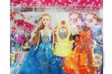 Набор кукла с одеждой арт.7618-В (кор.144) фото