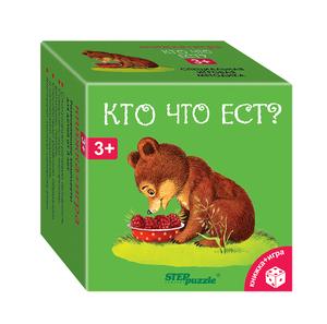 """Развивающий комплект """"Кто что ест?"""" (""""Книжка+игра""""), арт.76172 фото"""