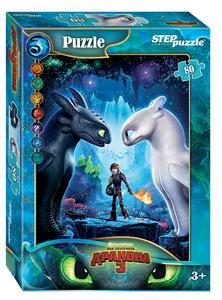 """Мозаика """"puzzle"""" 80 """"Как приручить дракона - 3"""", арт.77163 фото"""