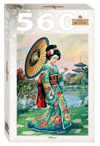 "Мозаика ""puzzle"" 560 ""Японка"", арт.78109 фото"
