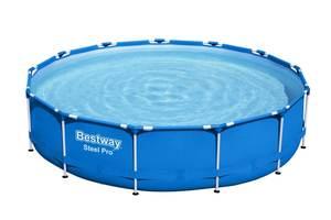 Бассейн каркасный Bestway Steel Pro™ 396 х 84 см фильтр-насос, арт.5612E фото