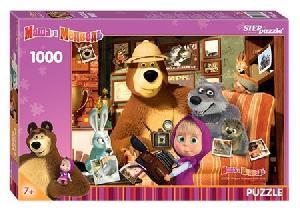 Пазл 1000 Маша и медведь арт.79605 фото