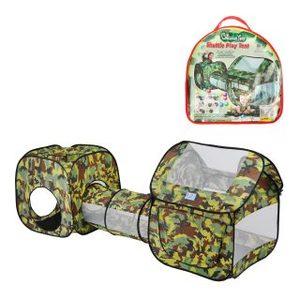 Комплекс игровой, палатки 2шт. с туннелем, сумка, арт.200557022 фото