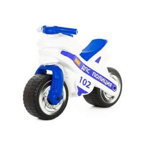 """Каталка-мотоцикл """"МХ"""" (Полиция), арт.80622 фото"""