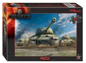 "Мозаика ""puzzle"" 60 ""World of Tanks"" (Wargaming), арт.81140 фото"