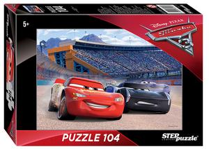 """Мозаика """"puzzle"""" 104 """"Тачки - 3"""" (Disney) арт.82170 фото"""