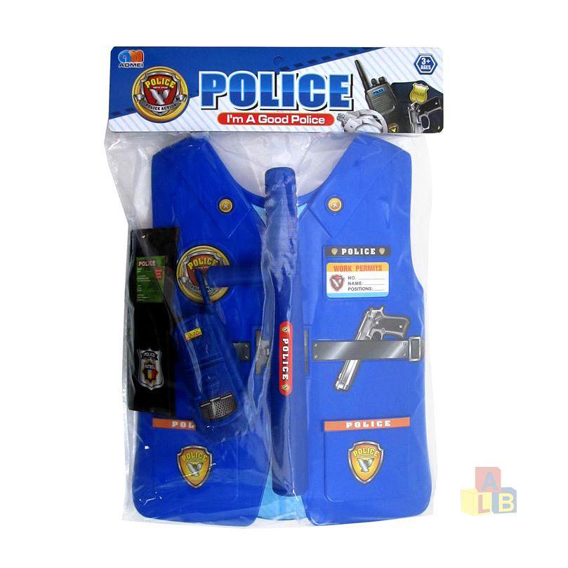 Набор полицейского №813/пакет/38*28*3, арт.813 фото