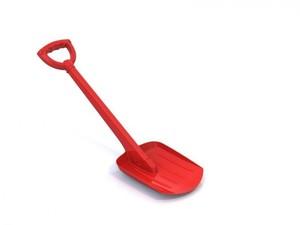 Лопата 70 см красная, арт.130/1 фото