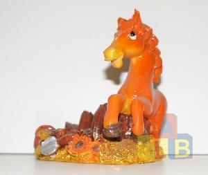 Сувенир Лошадь из пластм. арт.ym-329 (кор.144) фото