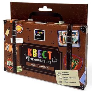 """Набор """"Квест в чемоданчике. Бюро находок"""" арт.83287 фото"""