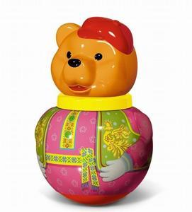 "Неваляшка малая  Бурый медведь ""Потапыч"" арт.01735 фото"