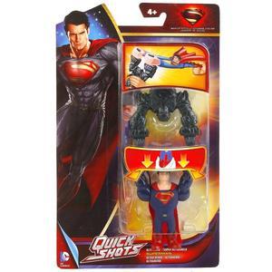MATTEL. SUPERMAN: MAN OF STEEL УСТРОЙСТВО ДЛЯ ЗАПУСКА ФИГУРКИ НА КАРТ. 17*26*3СМ в кор.20шт фото