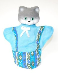 Кот (кукла-перч.), арт.11120 фото