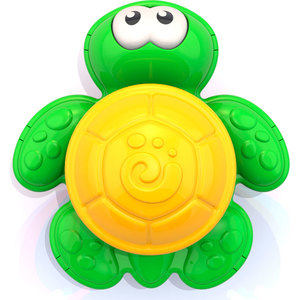 Игрушка для ванны. Водная серия: Черепашка (в инд.упаковке), арт.734 фото