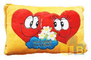 Подушка сердечки в ассорт. арт.Х11044 (кор.72) фото