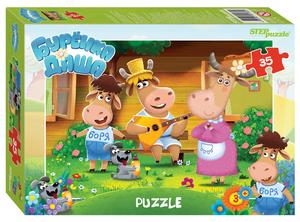 """Мозаика """"puzzle"""" 35 """"Буренка Даша"""" (Riki), арт.91180 фото"""