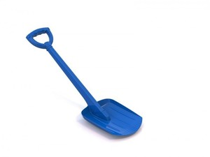 Лопата 70 см синяя, арт.130/2 фото