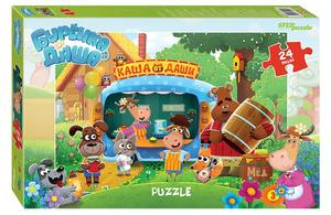 "Мозаика ""puzzle"" maxi 24 ""Буренка Даша"" (Riki), арт.90054 фото"