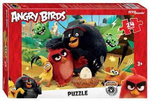 "Мозаика ""puzzle"" maxi 24 ""Angry Birds"" (Rovio), арт.90055 фото"