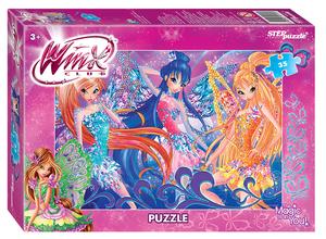 "Мозаика ""puzzle"" 35 ""Winx - 2"" (Rainbow), арт.91157 фото"
