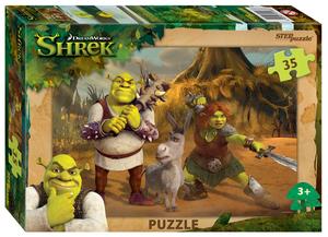"Мозаика ""puzzle"" 35 ""Shrek"" (DreamWorks, Мульти), арт.91183 фото"