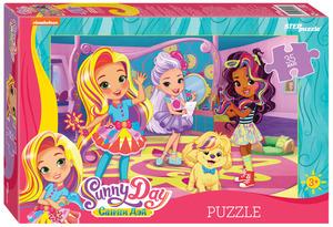 "Мозаика ""puzzle"" 35 MAXI ""Sunny Day"" (Никелодеон), арт.91252 фото"
