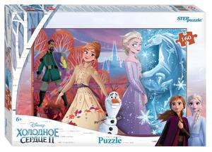 "Мозаика ""puzzle"" 160 ""Холодное сердце - 2"" (Disney), арт.94104 фото"