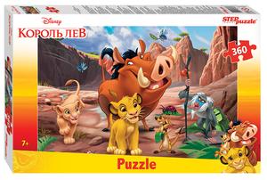 """Мозаика """"puzzle"""" 360 """"Король Лев"""" (Disney), арт.96079 фото"""