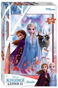 "Мозаика ""puzzle"" 360 ""Холодное сердце-2"" (Disney), арт.96084 фото"