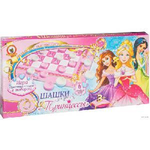 """Шашки для девочек. """"Принцессы"""" арт.02028 фото"""