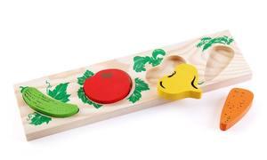 """Доска-Вкладыш """"Овощи"""", арт.372-2 фото"""