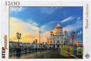 Пазл 1500 Храм Христа Спасителя арт.83053 фото