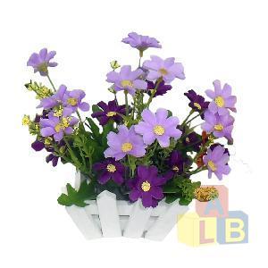 Цветы искусственные из пластмассы (кор.72) арт.85421 фото