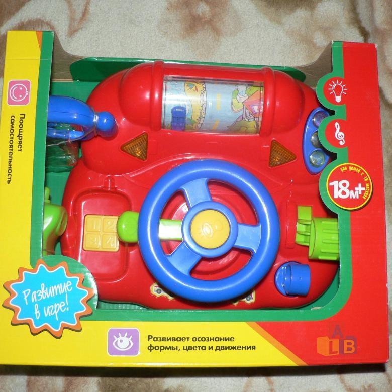 """Развивающая игрушка """"Большой Руль"""" арт.7124 фото"""