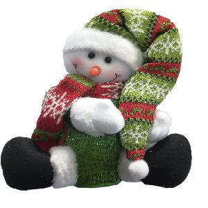 Снеговик/Дед Мороз (кор.96) арт.0181 фото