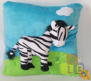 Подушка животные с объемным рисунком в ассорт. арт.D7026 (кор.72) фото