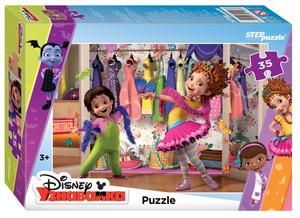 """Мозаика """"puzzle"""" 35 """"Изысканная Нэнси Клэнси"""" (DisneyJunior), арт.91198 фото"""
